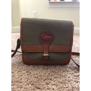 Dooney & Burke crossbody all weather leather bag
